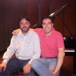 Con Diego Magdaleno