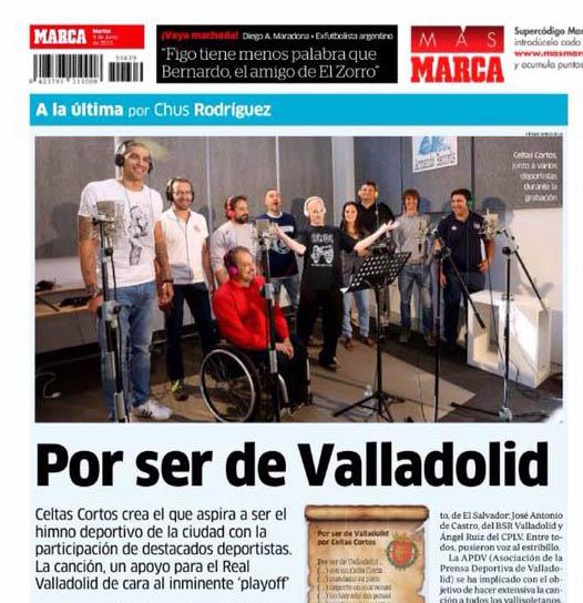 MarcaPorserdevalladolid Celtas Cortos Estudio Armando Records España