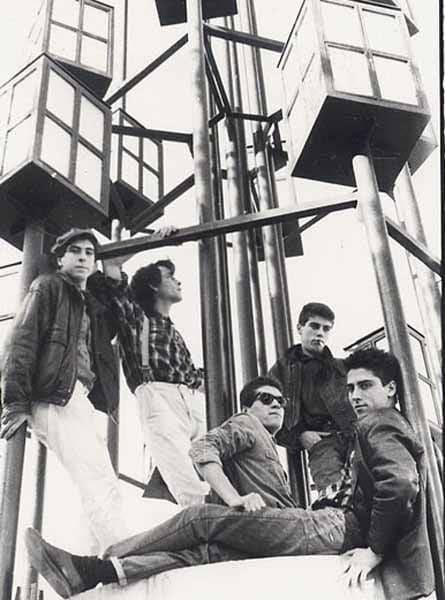 Grupo Automaticos con Armando Fernandez 1985 Valladolid