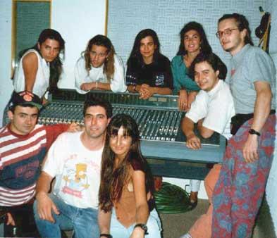 Con Greta y Los Garbo en 1992