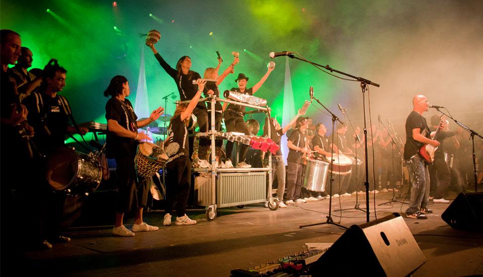 Colaboración con Celtas Cortos Ferias de Valladolid Armando Records España Armando Ruido
