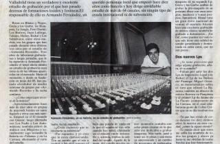 Norte de Castilla1992 Armando Fernández Armando Records Valladolid