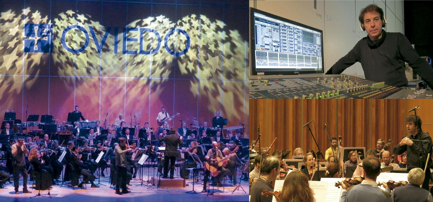Grabación CD 30 Aniversario Celtas Cortos con la Orquesta Sinfónica de Asturias