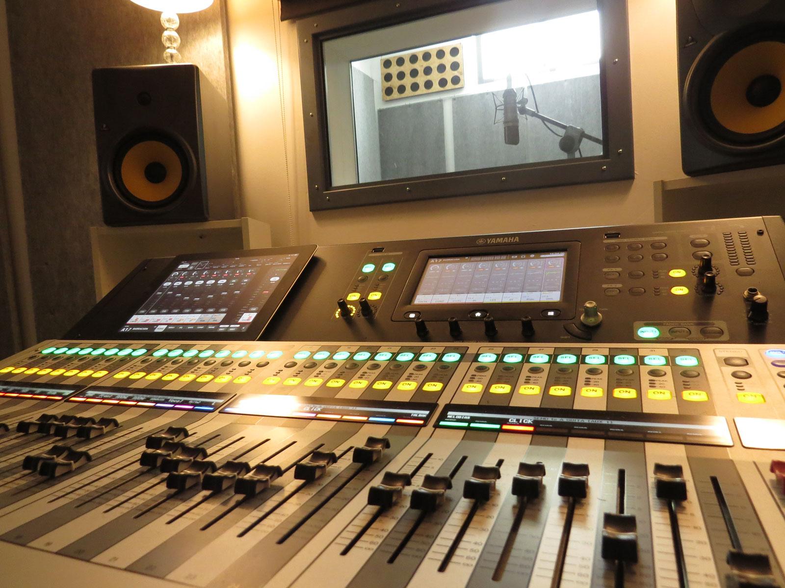 Mesa digital estudio grabación curso verano sonido