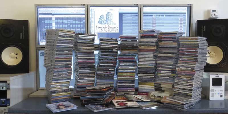 Mas de 400 producciones discograficas realizadas en Armando Records Spain
